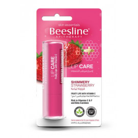 BEESLINE | lip care shimmery strawberry