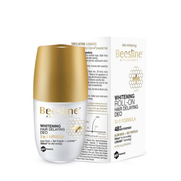 BEESLINE   offer whitening roll on hair delaying deo