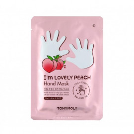 TONYMOLY | I'm Lovely Peach Hand Mask