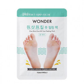 TONYMOLY | مقشر الأقدام Wonder One Shot One Kill Foot Peeling Pack