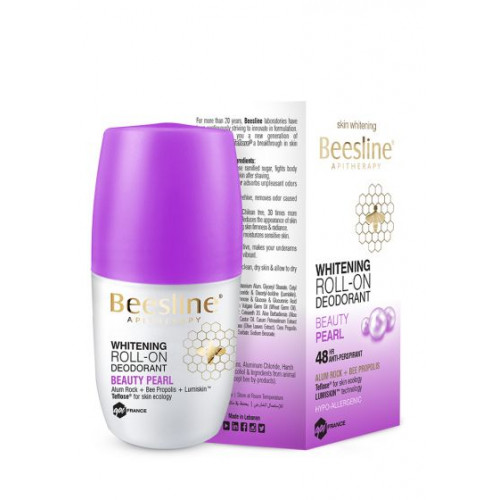 BEESLINE | offer WHITENING ROLL-ON DEODORANT BEAUTY PEARL