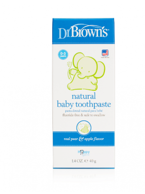dr brown    Dr. Brown's Happy Teeth Fluoride-Free Toothpaste