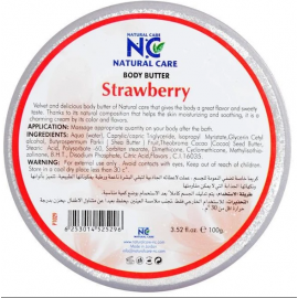NATURAL CARE | Body Butter Strawberry