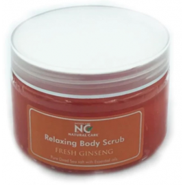 NATURAL CARE | DEAD SEA Relaxing Body scrub with Fresh Ginseng oil