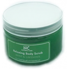 NATURAL CARE | DEAD SEA Relaxing Body scrub with Mint Lavender oil