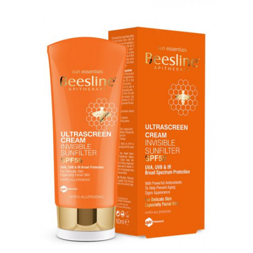 BEESLINE | offer ultrascreen cream invisible sunfilter  ultrascreen cream invisible sunfilter