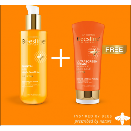 BEESLINE | offer suntan oil  ultra sunscreen free