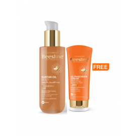 BEESLINE | Suntan Oil Gold   ULTRASCREEN CREAM INVISIBLE SUNFILTER SPF 50 Offer