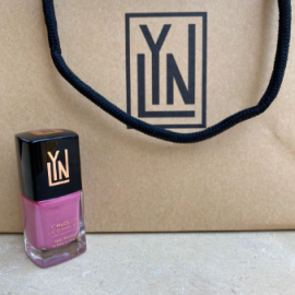 ( LYN| BREATHABLE NAIL POLISH (ROSE OUD