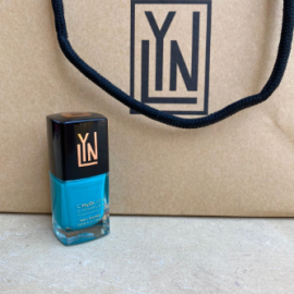 ( LYN| BREATHABLE NAIL POLISH (TEAL ME MORE
