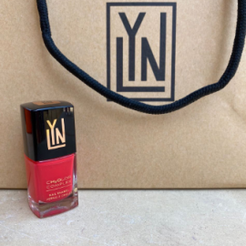 ( LYN| BREATHABLE NAIL POLISH (SPICY SASSY SAUSY