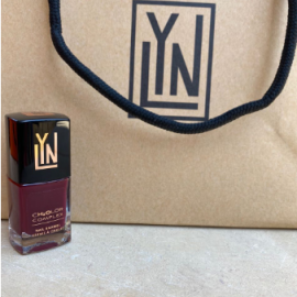 ( LYN| BREATHABLE NAIL POLISH (RAISIN THE ROOF