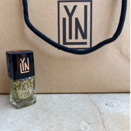(LYN| BREATHABLE NAIL POLISH (I SPOT GOLD