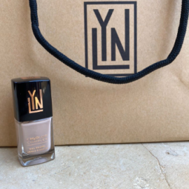 (LYN| BREATHABLE NAIL POLISH (I SCREAM FRENCH VANILLA