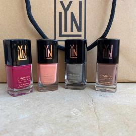 LYN| BREATHABLE NAIL POLISH  (offer berry blast- im peachless- steeling the show-beach you to it