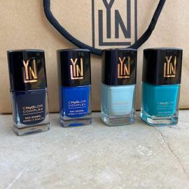 LYN| BREATHABLE NAIL POLISH  (offer  arabian nights-  blue me a kiss-  mint for each other-  teal me