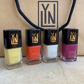 LYN| BREATHABLE NAIL POLISH  (offer  butter me up- orange you pretty- snow me a good time-we're grape together