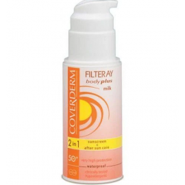 COVERDERM |   Coverderm Filteray Body Plus Milk SPF 50 Very High Protection Waterproof 100ml