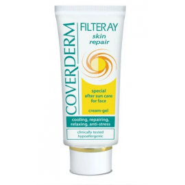 COVERDERM |  Coverderm Filteray Skin Repair Special After Sun Care Face Cream Gel 50ml