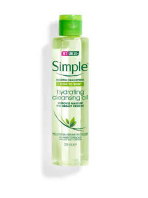 SIMPLE | simple hydrating cleansing oil 125ml