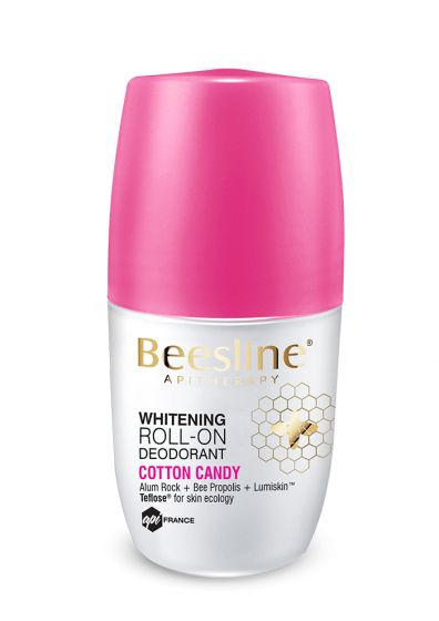 BEESLINE | WHITENING ROLL-ON DEODORANT COTTON CANDY