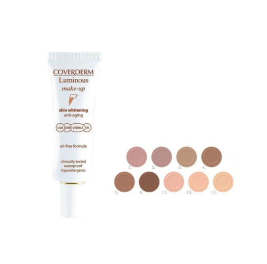 COVERDERM | Coverderm - Luminous Make Up Anti Aging SPF50